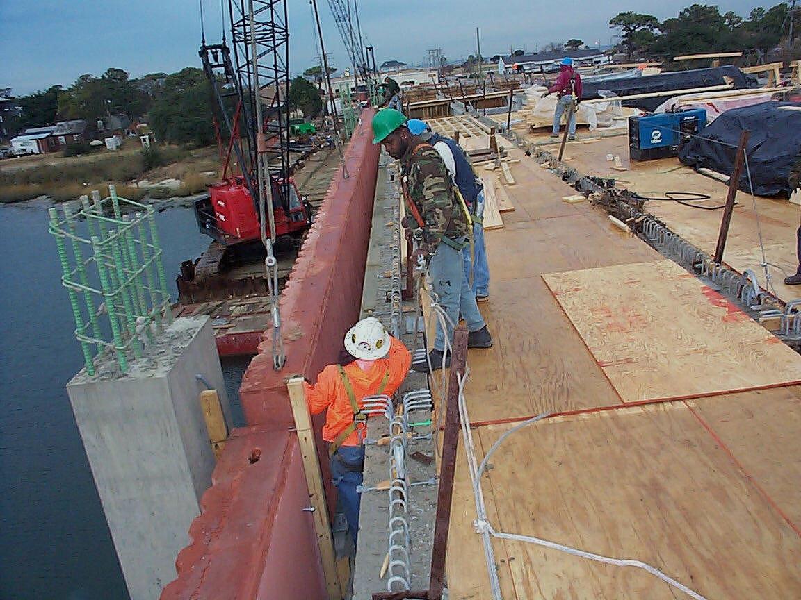 Erecting precast architectural panels