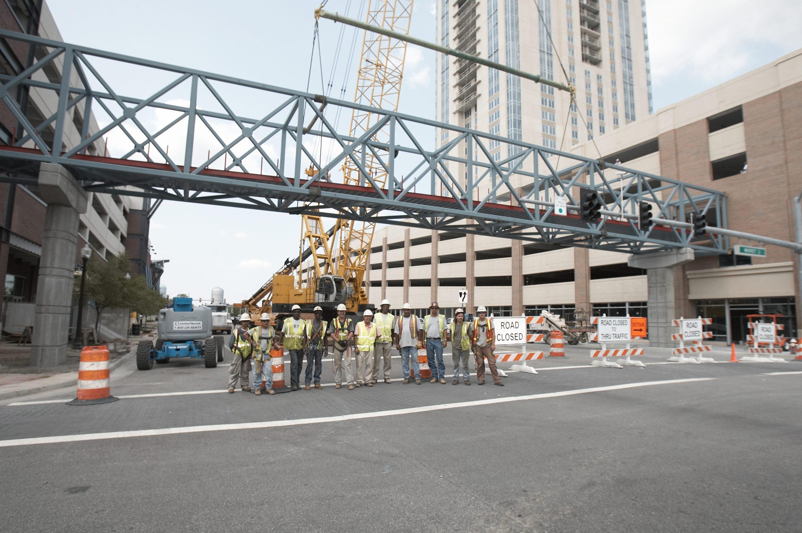 Bryant Contracting bridge crew