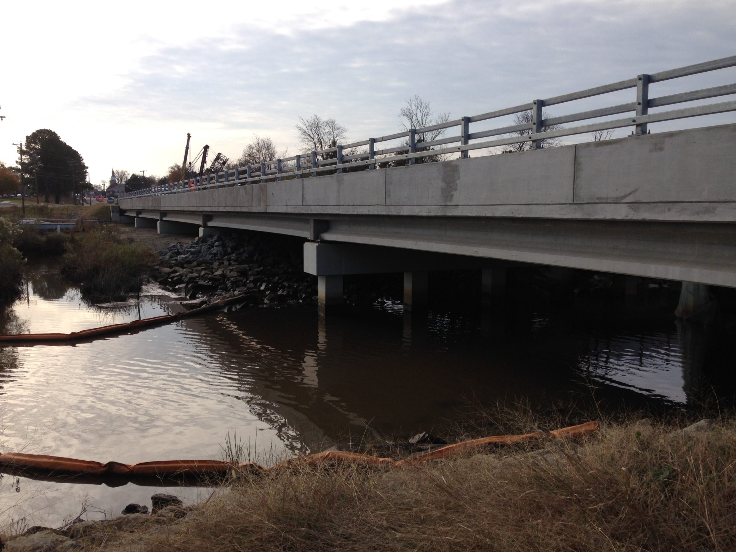 Route 17 over Tignor Creek-Tappahannock, VA: Replacement of existing culvert with a new 5-span bridge