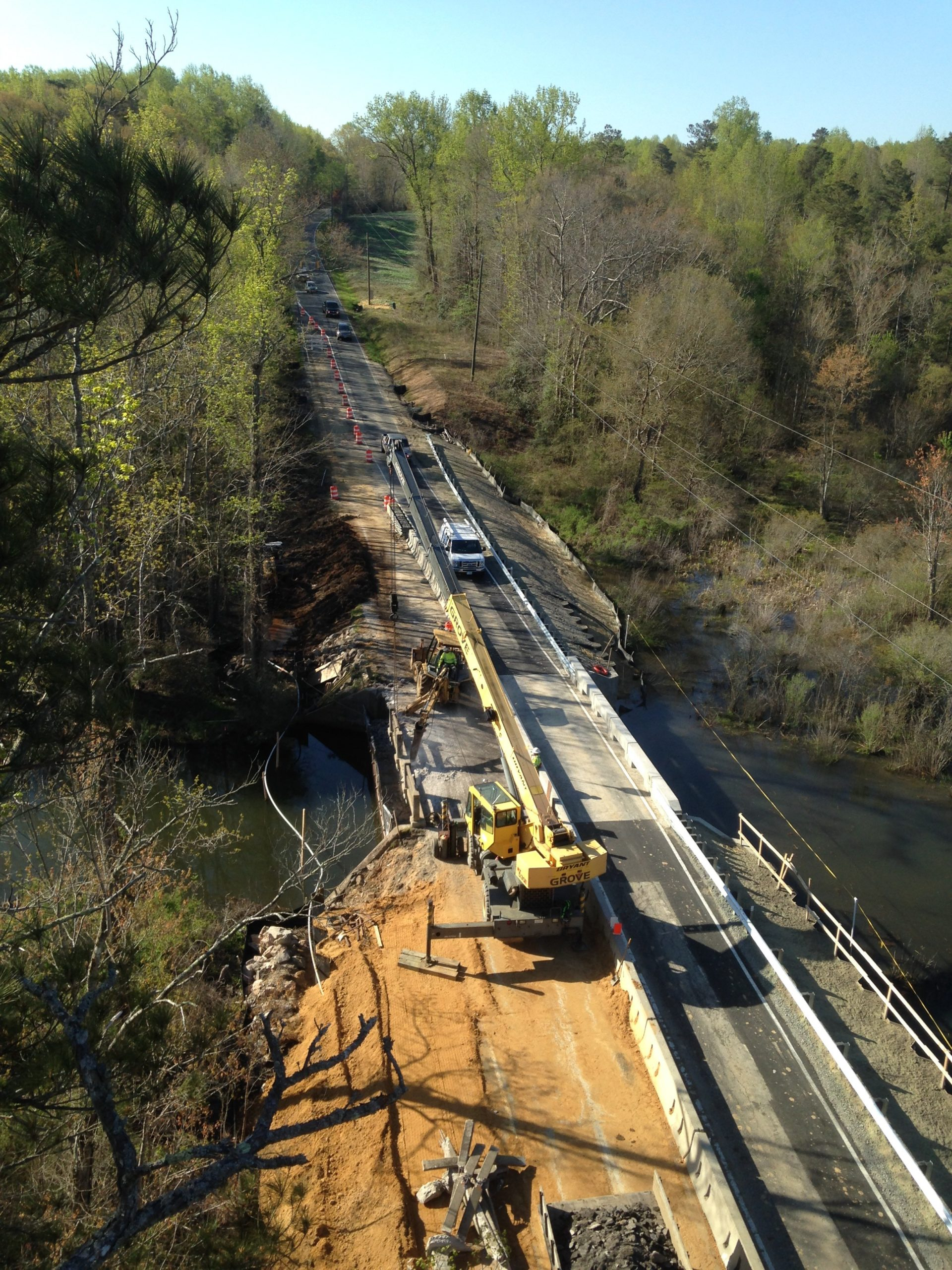 Route 198 over Harpers Creek-Gloucester Co., VA: Superstructure replacement and approach roadway widening