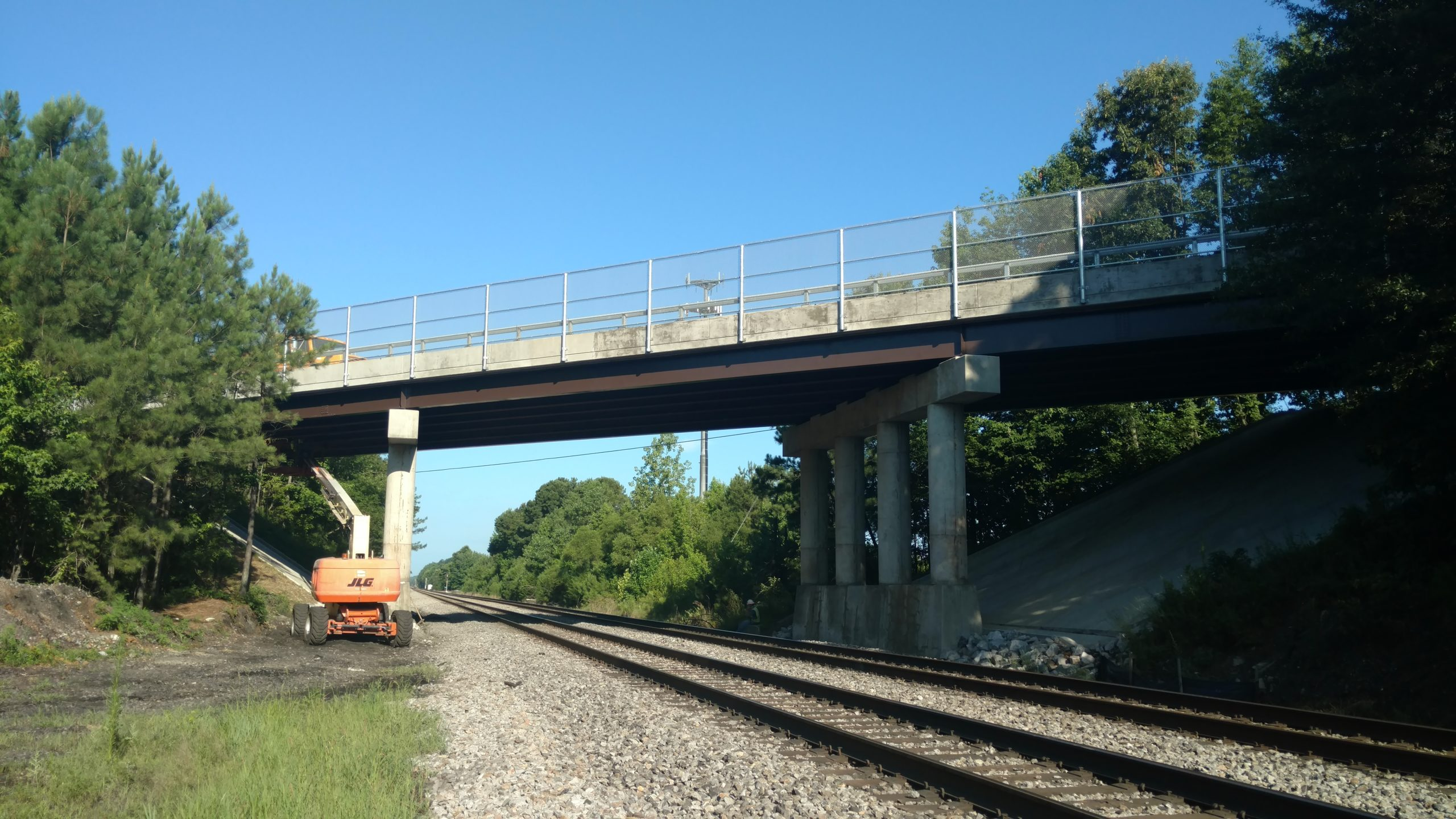 Route 226 over Norfolk Southern Railroad-Dinwiddie Co., VA: Superstructure and partial substructure replacement