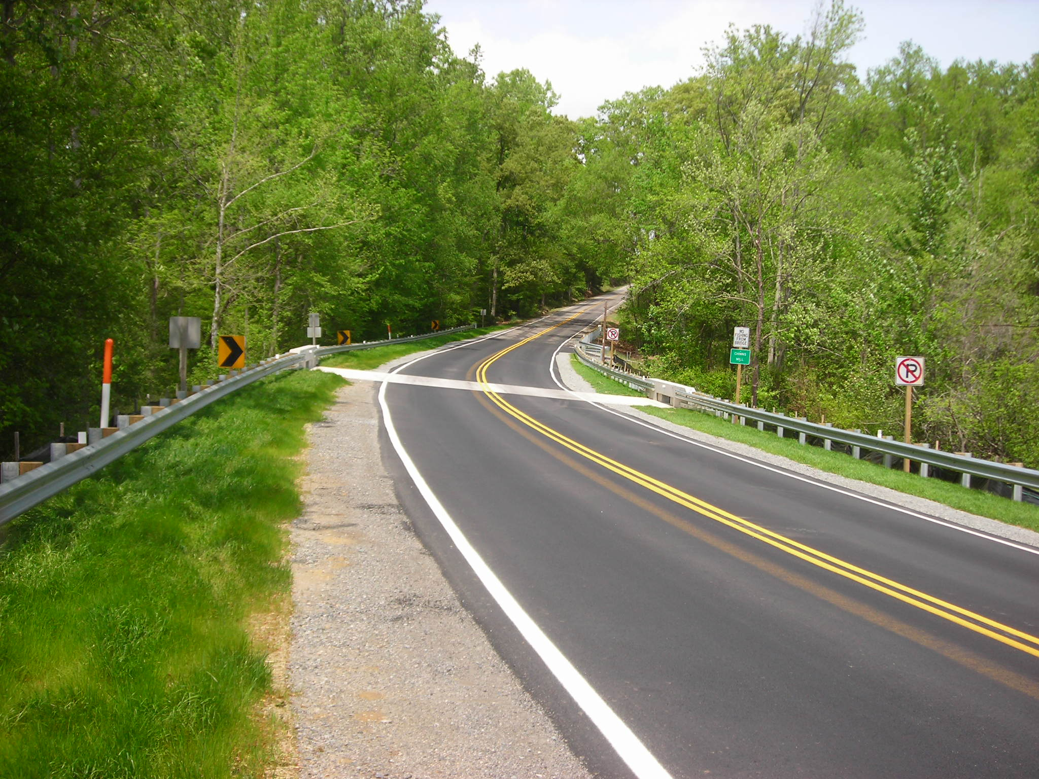 Route 3 over Chinns Mill Pond, Richmond County: Completed project