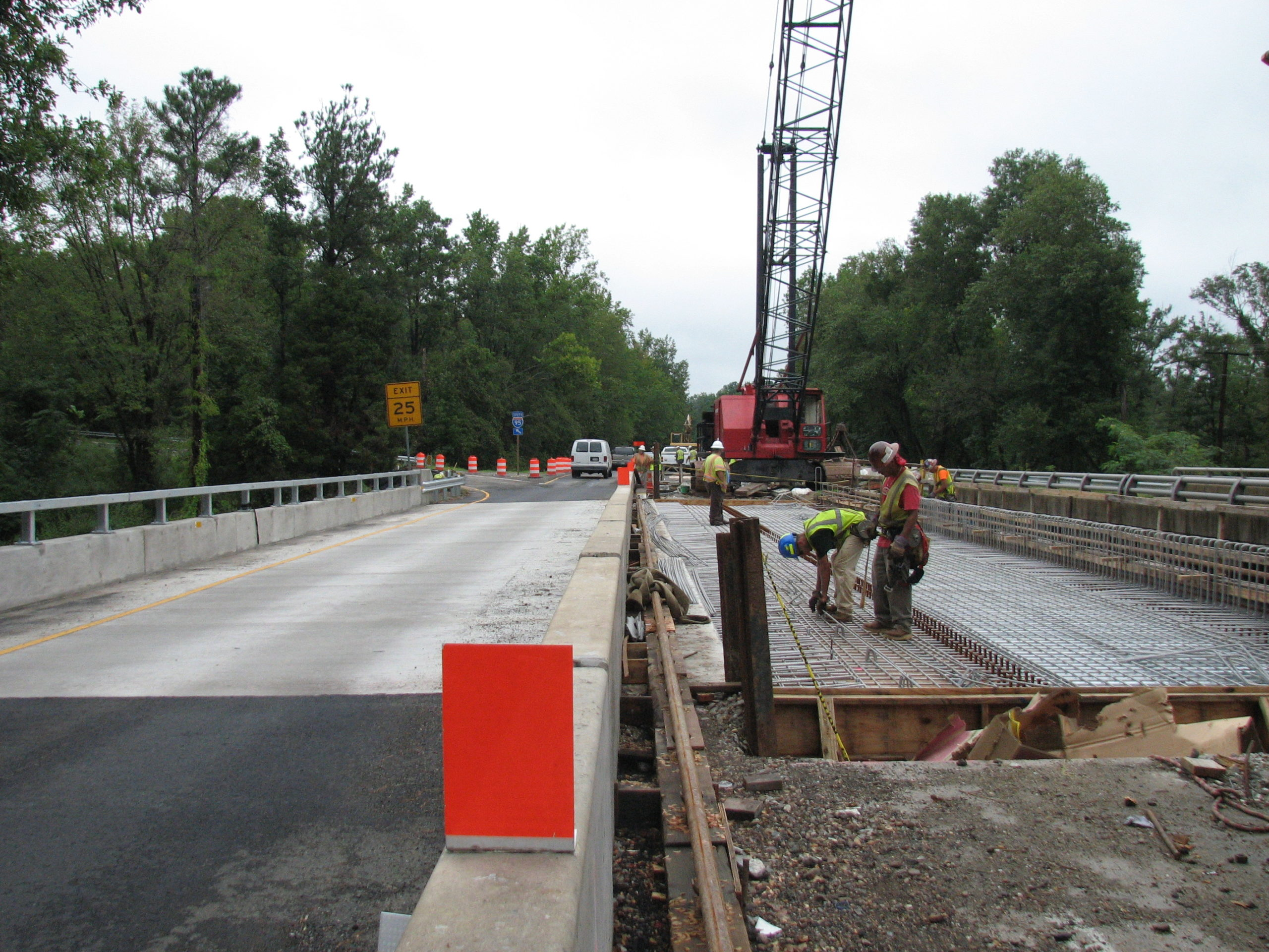 Route 301 over Upham Brook-Henrico Co., VA: Superstructure replacement