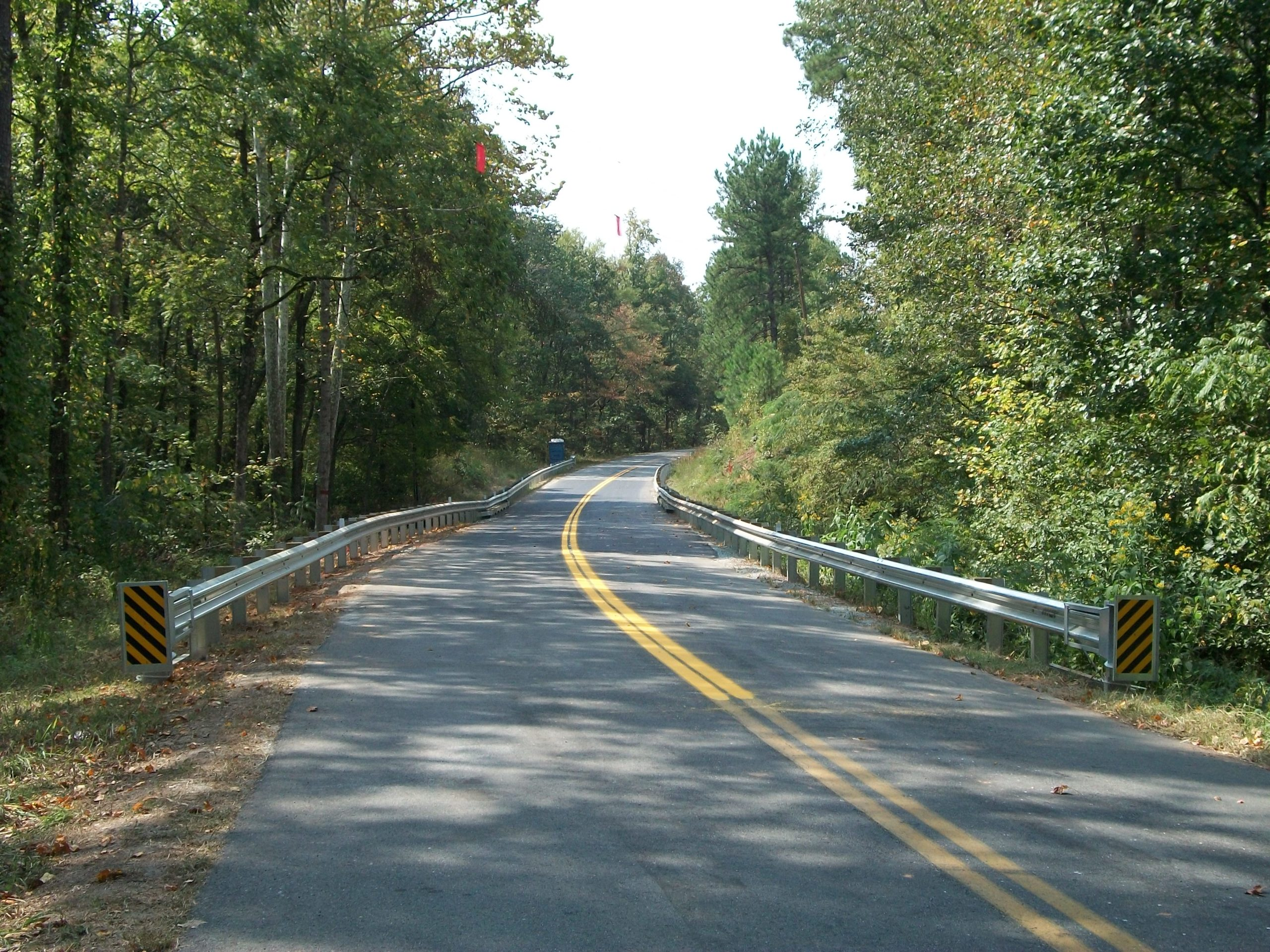Route 723 over Beaver Pond Creek, Mecklenburg County: Completed project