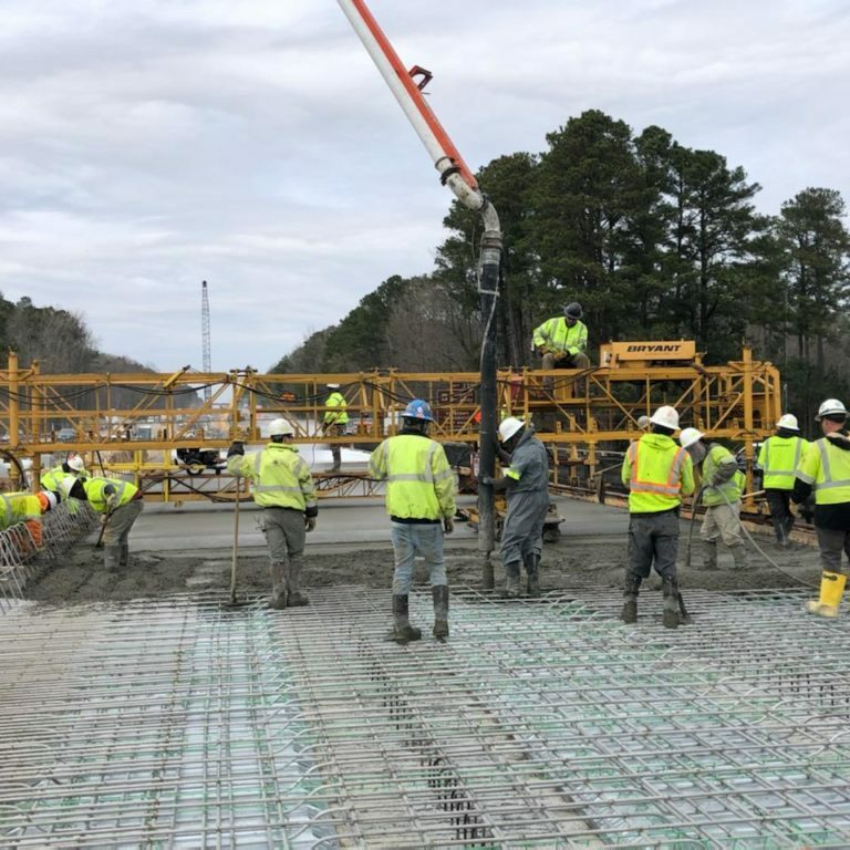 Q064 Bridge Deck Pour